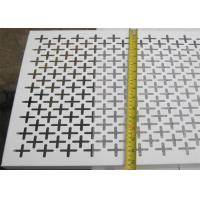 Buy cheap Plain Weave Style Decorative Metal Sheets 1.22x2.44m Panel Size Panel And Coil Sku Type product