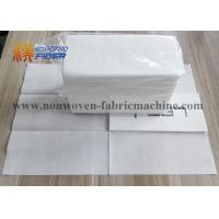 China Decorative Linen Like Paper Dinner Napkins Disposable Fluff Pulp Material on sale