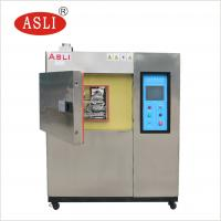 China Three And Two Zone Thermal Shock Cycle Test Chamber Hot Cold Impact Testing Machine on sale