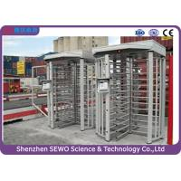 Buy cheap High Quality Brushless Motor Single Channel Security Full Height Turnstile with RFID Card Reader from wholesalers
