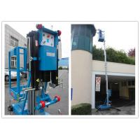 Buy cheap Blue Vertical Single Mast Lift 8 Meter Working Height For Factory Working product