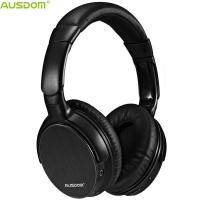 China Ausdom M06 DWS Over Ear Adjustable Super Comfortable Noise Cancelling Deep Bass Durable Bluetooth Headphone With Mic on sale