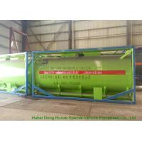 Buy cheap 20Feet HCL Acid ISO Tank Container For Shipping UN1789 Steel Lined PE 16mm product