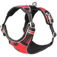 Buy cheap 102cm Bust Walking Chest Strap Reflective Mesh Dog Vest Harness product