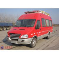 Buy cheap Seven Seats Fire Command Vehicles Rear Overhang 1680mm With Mounted Electric Generator product