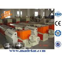 Buy cheap PVC Cable Trunking Extrusion Line product