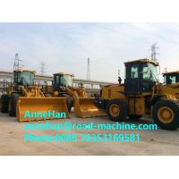 Buy cheap ZL50GN Grasping Grass Heavy Construction Machinery , 4500kg Xcmg Wheel Loader With 3m3 Bucket product