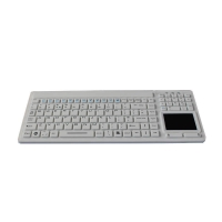 Buy cheap Waterproof medical grade  keyboard with Touchpad with USB product