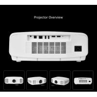 Bluetooth 3D 3300 lUMENS Android Smart Projector Support Miracas Airplay DLNA