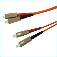 SC / PC - MM - D X- 3.0mm - 1m low insertion loss, high return loss Fiber Optic Patch Cord
