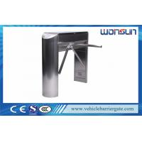 Buy cheap Electrical Turnstile Barrier Gate , Security Control Tripod Turnstile Gate Mechanical product