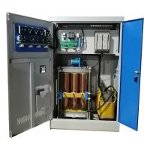 Buy cheap Long Lifetime High Power Voltage Regulator 250KVA 3 Phase Ac Voltage Regulator product