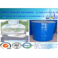 Common Chemical Solvents Iso Butyl Acetate Olorless Transparent Liquid C6H12O2