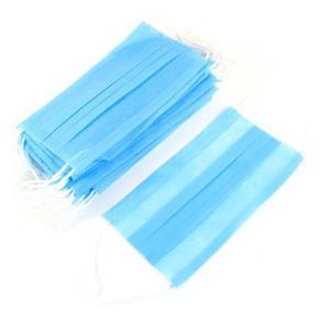 Buy cheap Anti Bacterial Three Pleats PPE Earloop Face Masks product