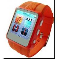 China AD668-A True Color Screen Built-in Lithium Battery Photograph MP4 Wrist Watch  on sale