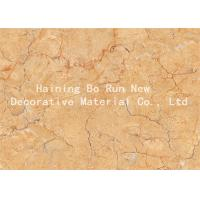 Quality Strong Covering Power Marble Effect Film , Decorative Door Paper Film Non - Toxic for sale