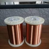 Buy cheap AWG 54 super thin enameled copper wire with 100g MOQ from wholesalers