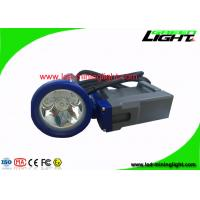 Buy cheap Strong Brightness Rechargeable LED Headlamp , Cordless Mining Cap Lamps For from wholesalers