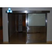 Buy cheap Anti - Radiation Automatic Hospital Doors With Sliding Single Leaf , Easy Clean And Antibiosis product