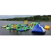 Buy cheap Lake Floating Inflatable Water Park / Inflatable Water Games For Adults And Kids product