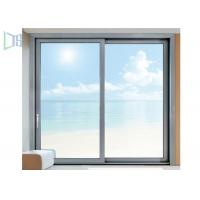 Buy cheap Triple Track Aluminum Sliding Windows Residential Single / Double Glazed Glass product