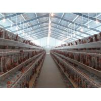 Buy cheap PVC Down Pipe Poultry Farm Structure With Grey paint Surface product