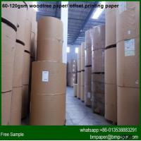Quality Bright Color Woodfree Offset Paper A4 Size for sale
