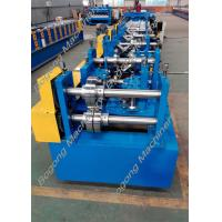 Buy cheap Automatic Cz Purlin Roll Forming Machine Post Punching Post Cutting product