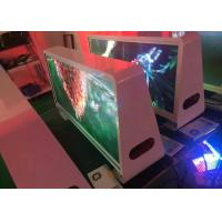 Buy cheap P5 Taxi Top LED Display 3G Wifi Wireless Advertising LED Sign product
