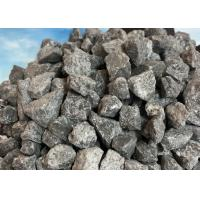 Buy cheap High Hardness Brown Fused Aluminum Oxide 95.5%Min Titling Furnace For Unshaped Refractory product