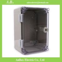Buy cheap 300x200x160mm ip65 PC Clear electrical distribution box size and price wholesale product