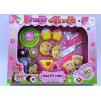 Buy cheap Multi Colored Dessert Childrens Toy Kitchen Sets For Pretend Role Playing 20 Pcs product