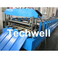 Color Steel Trapezoidal Panel Profile Roll Forming Machine With Panasonic PLC