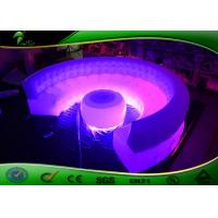 Buy cheap Waterproof Inflatable Water Toys Digital Printing 4m Long LED Inflatable Sofa product