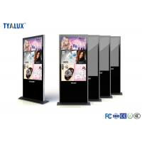 Buy cheap Indoor Smart Touch Screen Digital Signage Display  LED Backlight Full Color product