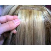 Buy cheap PU skin tape remy hair weft product