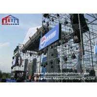 Buy cheap Trade Show Aluminum Space Truss StructureGalvanized Surface Customized Size from wholesalers