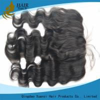 Buy cheap 13  *  6 Full Lace Frontal Closure Body Wave Real Human Hair No Chemical from wholesalers