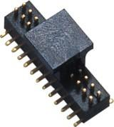 Buy cheap 26 Pin Male Connector 1.0mm SMT  PA9T WCON Dual Row Header For Digital Camera product