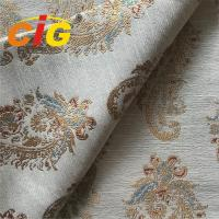 Buy cheap 100% Polyester Jacquard Sofa / Curtain Fabric  Home Decor Fabrics Width 295cm product