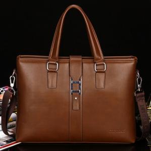 Buy cheap Men's business bags Genuine Leather Portfolio Bag Shoulder bag product