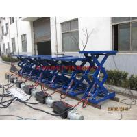 Buy cheap Metal Industry Stationary Hydraulic Lift , High Strength Steel Manual Lift Table from wholesalers