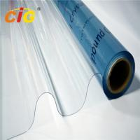 Buy cheap Transparent PVC Film Roll Waterproof 0.06mm-0.5mm Thickness For Packing Bag product