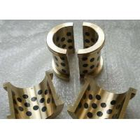 Buy cheap Cylinder Flanged Cast Bronze Bearings With Solid Lubricant Plugs product
