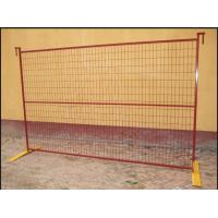 Buy cheap Commercial Building Site Security Fencing Panels Anti Climb High Flexibility product
