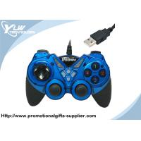 Buy cheap Digital and analog mode blue color USB  Game Controllers directional pad product