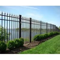 China Unique steel door designs aluminum wrought iron gates fence and gates on sale