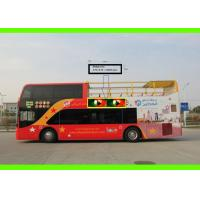 Buy cheap Creative Bus Ads Mobile led bus display for Digital Bus Advertising , High definition product
