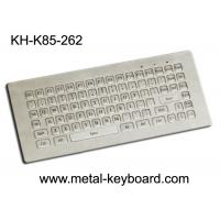 Quality 85 Keys Mini Industrial Metal Keyboard with dust - proof , anti - corrosive for sale