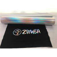 Buy cheap 27 Yards Siser Hologram Heat Transfer Vinyl  , Easy Weed Silver Holographic Vinyl product